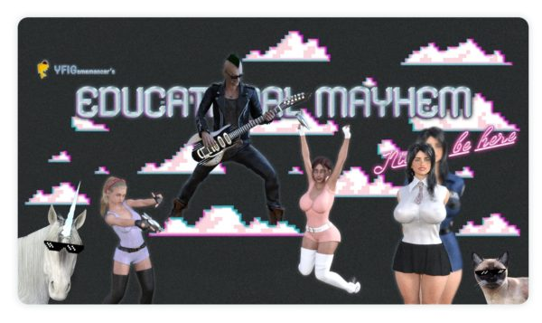 Educational Mayhem: Nice to be here