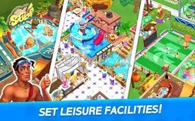My Little Paradise Resort Management Game