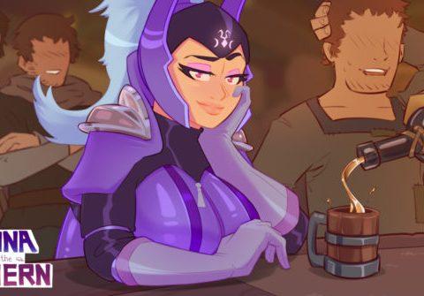 Luna in the Tavern
